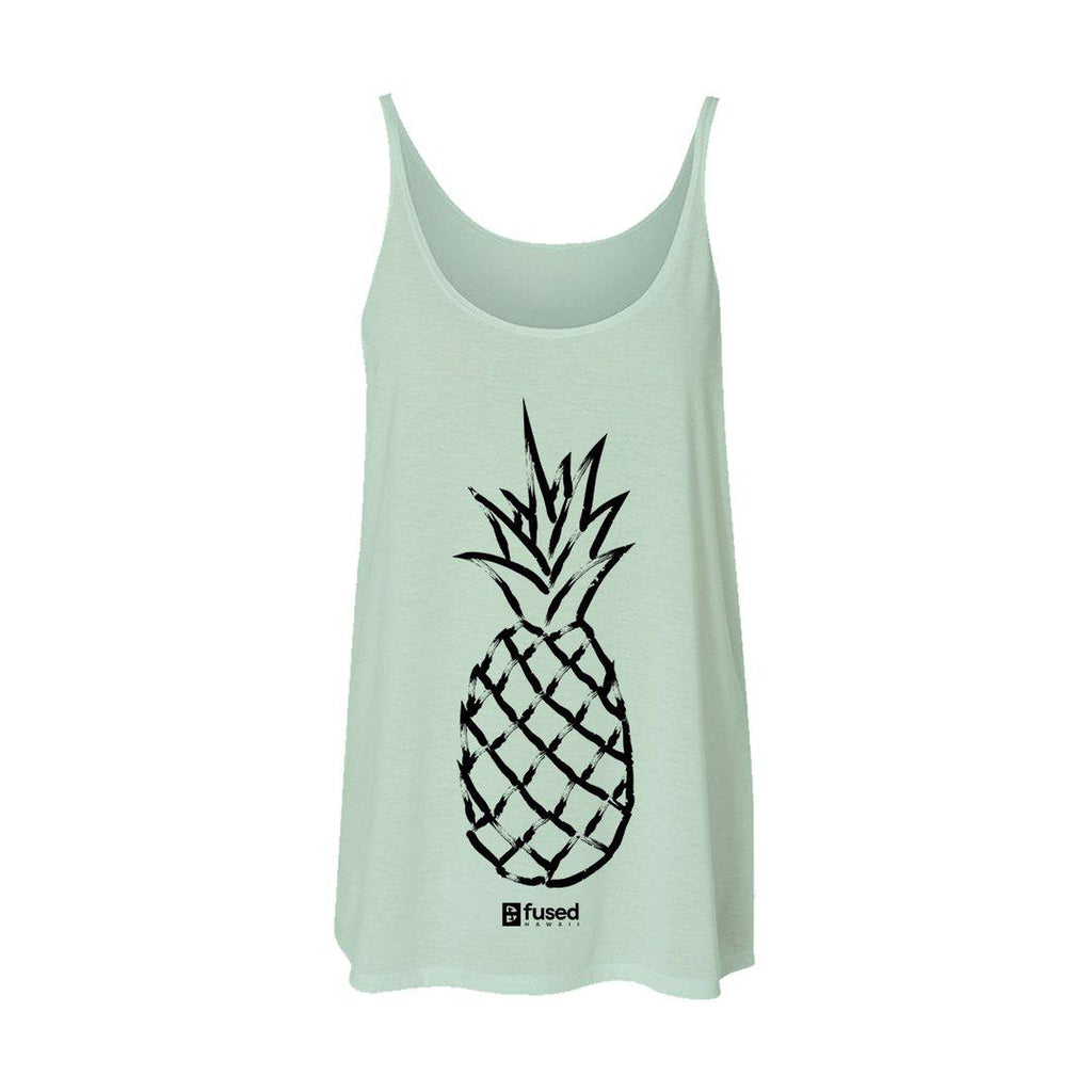 Pineapple Love Flowy Tank - FUSED HAWAII