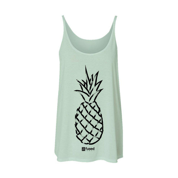 Pineapple Love Flowy Tank (Pre-sale ship date 5.10.20) - FUSED HAWAII