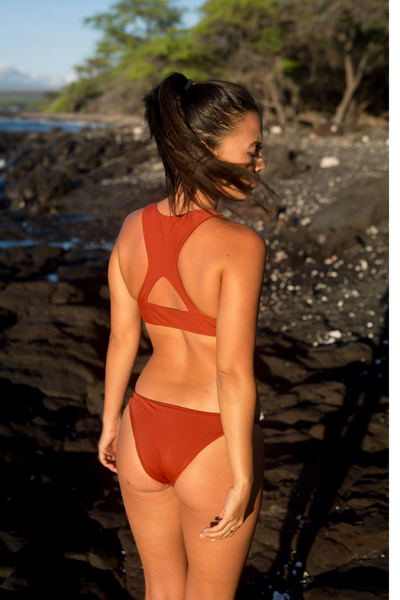 Red Dirt Waimea Bikini Bottom - FUSED HAWAII