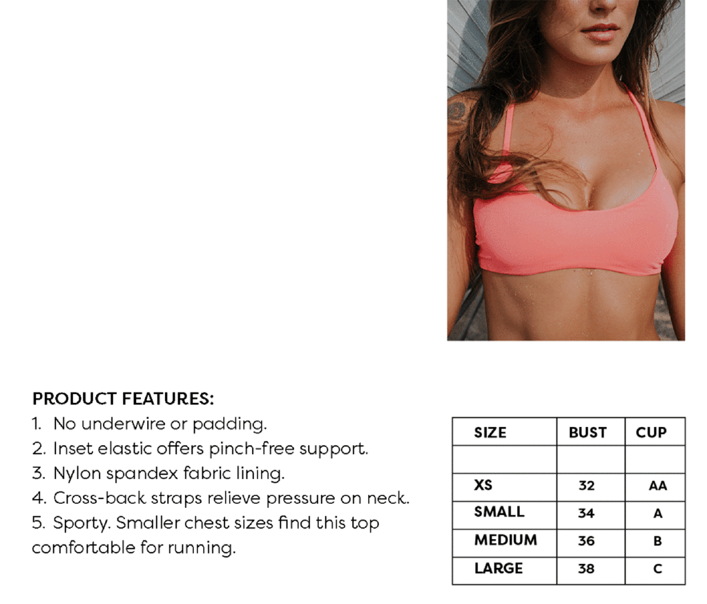 Fused Hawaii - Hookena Bikini Top Monthly Subscription (Volcano)