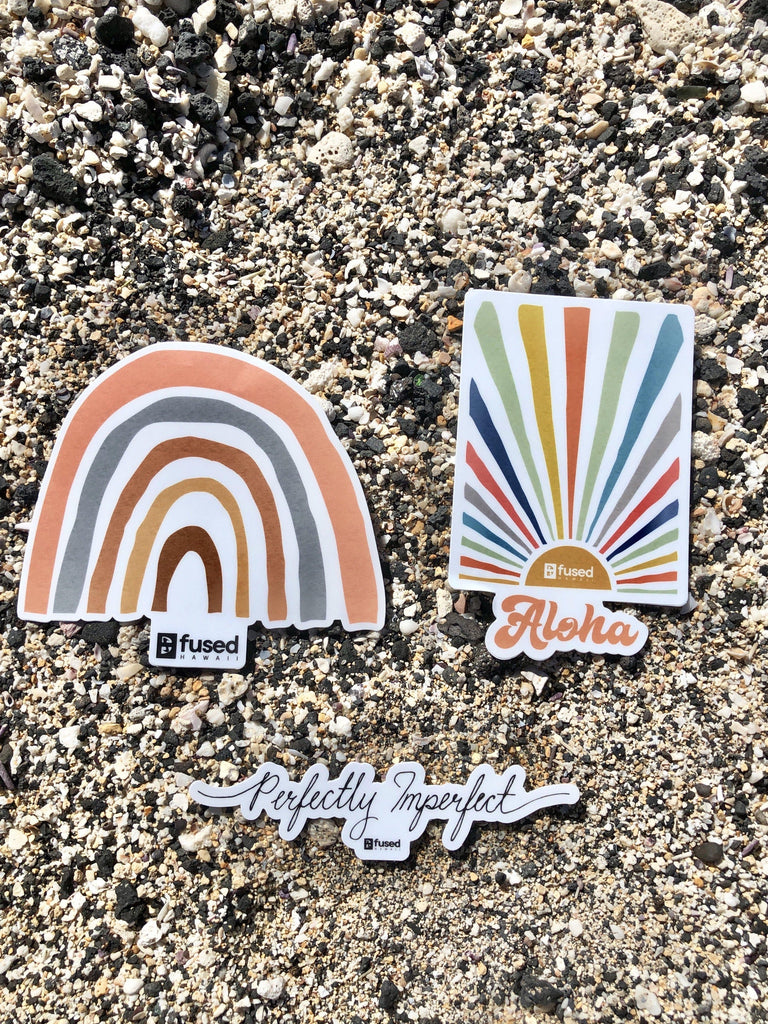 3-PK Sticker Set - FUSED HAWAII