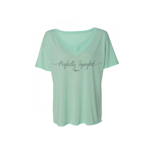 Perfectly Imperfect Handwritten Flowy V-Neck - FUSED HAWAII