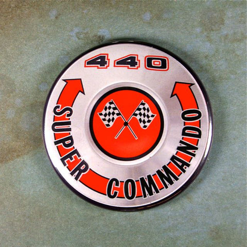 Vintage Air Cleaner 440 Fridge Magnet Super Commando Mopar Dodge