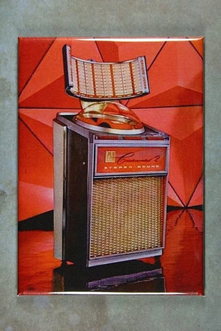 Vintage Jukebox Advertisement Fridge Magnet AMI Continental 2