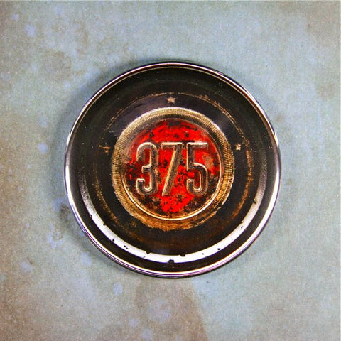 Vintage 375 Car Emblem  Fridge Magnet ,50's 60's 70's Chrysler Rat Rod