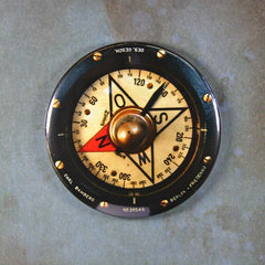 Vintage Aircraft Compass Gauge  Fridge Magnet WW2 Messerschmitt