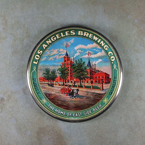 Vintage Beer Sign Fridge Magnet Los Angeles Brewing Co.