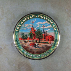 Fridge magnet Vintage Tin Signe Los Angeles Brewing Co. east side
