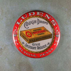 Vintage Luden's menthol Cough Drops Sign Fridge magnet
