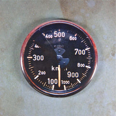 Vintage Air Speed Gauge Fridge Magnet  Luftwaffe  ME 262 WW2