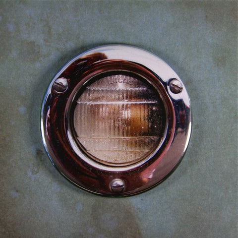Vintage British Chrome Car Marker Light  Fridge Magnet