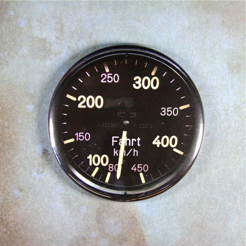 Antique Airspeed Gauge Fridge Magnet WW2 Messerschmitt