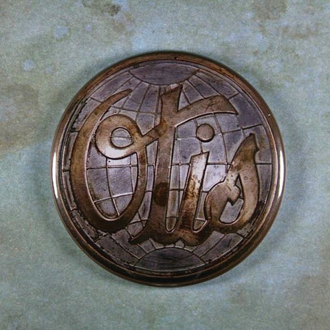Vintage Metal Badge Fridge Magnet Otis Elevator