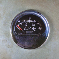 Fridge Magnet Vintage Rat Rod RPM Gauge Themagnetlibrary