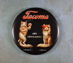 "Fridge Magnet 2 1/4"" Tacoma Hang over Beer Katzenjammer"