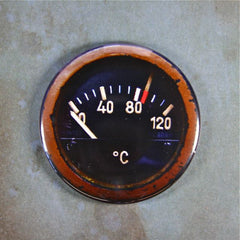 Aircraft Temperature Gauge Magnet, WW2,Messerschmitt, Luftwaffe