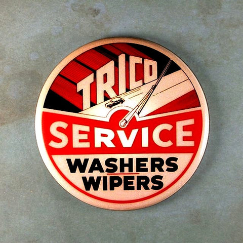 Vintage Neon  Sign Fridge Magnet  Trico Wipers  Washers Service