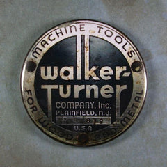 Steampunk Emblem Fridge Magnet Walker Turner Machine Tools