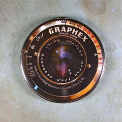 Vintage Graphex Camera Lens Fridge Magnet Graflex