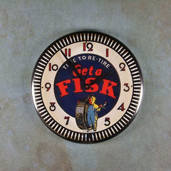 Refrigerator magnet Get a Fisk tires themagnetlibrary