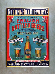 Refrigerator Magnet Notting hill Brewery London The magnet library