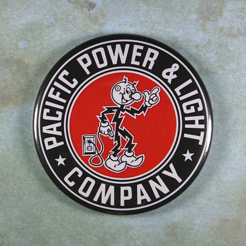 Vintage Advertising Sign Fridge Magnet Reddy Kilowatt Pacific Power