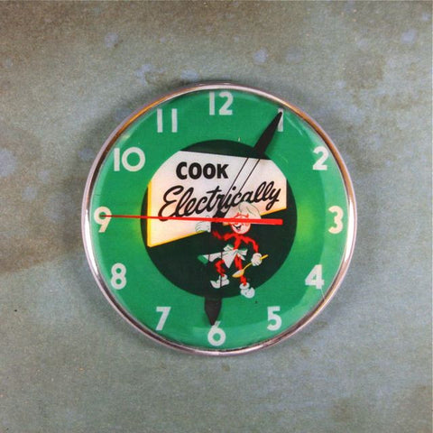 Vintage Advertising Clock Fridge Magnet Reddy Kilowatt