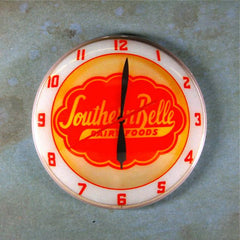 Vintage Advertising Clock Southern Belle Dairy Foods Products