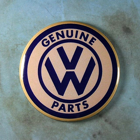 Vintage Water Decal Fridge Magnet Genuine VW Parts