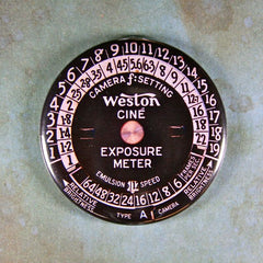 Vintage Exposure Meter Fridge Magnet Camera Equipment