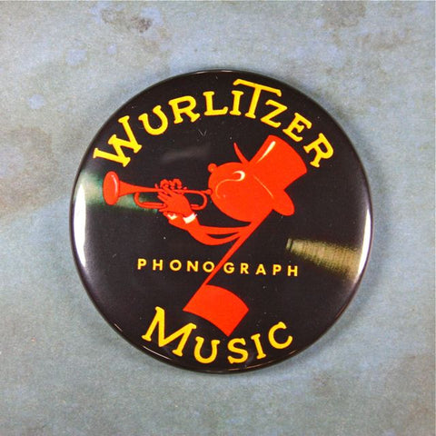 Vintage Wurlitzer Jukebox Sign Fridge Magnet  Johnny One Note