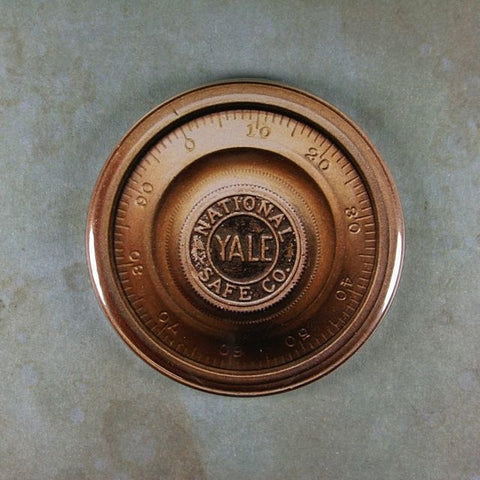 Vintage Safe Dial Fridge Magnet  National Safe Co. Yale Lock