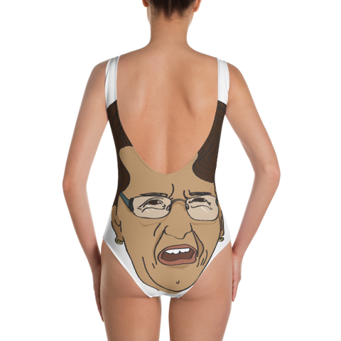 Not Your Grandma's Guidance Counselor One-Piece Swimsuit - The School Counselor Shop  Great gifts and items for school and guidance counselors. School Counseling, Counseling, School Shirts, Counseling Apparel