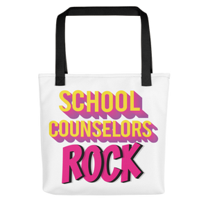 School Counselors Rock Tote bag - The School Counselor Shop