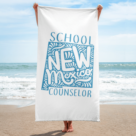 NM School Counselor Towel - The School Counselor Shop