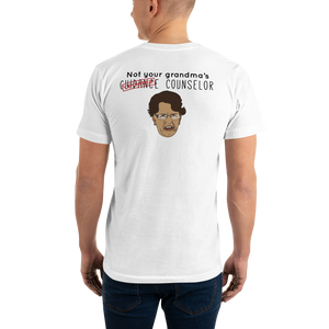 Not Your Grandma's Unisex American Apparel Short-Sleeve T-Shirt - The School Counselor Shop  Great gifts and items for school and guidance counselors. School Counseling, Counseling, School Shirts, Counseling Apparel