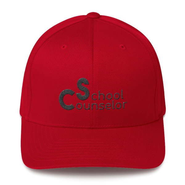 School Counselor Partial 3D Puff Embroidered Structured Twill Cap - The School Counselor Shop  Great gifts and items for school and guidance counselors. School Counseling, Counseling, School Shirts, Counseling Apparel