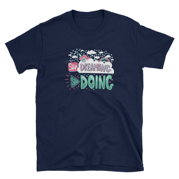 Start Doing - Gildan 64000 Short-Sleeve Unisex T-Shirt - The School Counselor Shop  Great gifts and items for school and guidance counselors. School Counseling, Counseling, School Shirts, Counseling Apparel