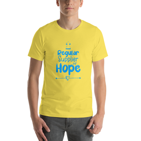 School Counselor | Teacher | Therapist | Regular Supplier of Hope Short-Sleeve T-Shirt | Paraeducator | School Psych