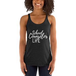 School Counselor Life Next Level Women's tank top - The School Counselor Shop  Great gifts and items for school and guidance counselors. School Counseling, Counseling, School Shirts, Counseling Apparel