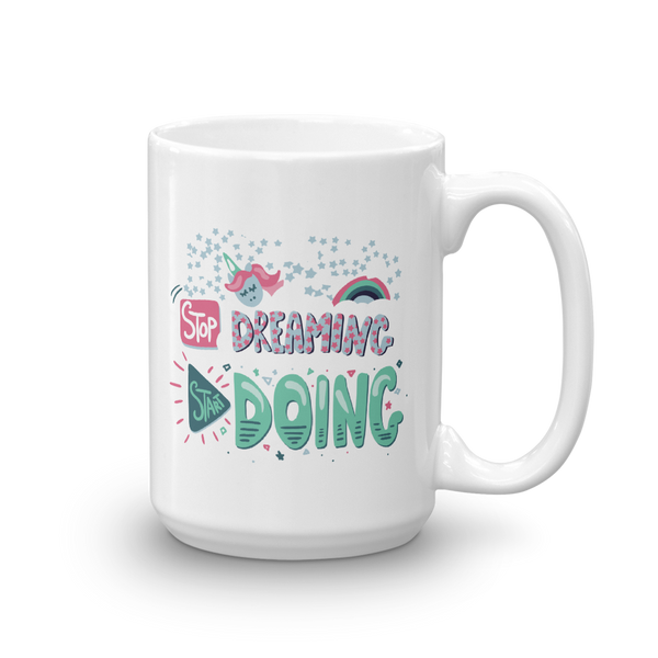 Start Doing Ceramic Mug - The School Counselor Shop  Great gifts and items for school and guidance counselors. School Counseling, Counseling, School Shirts, Counseling Apparel