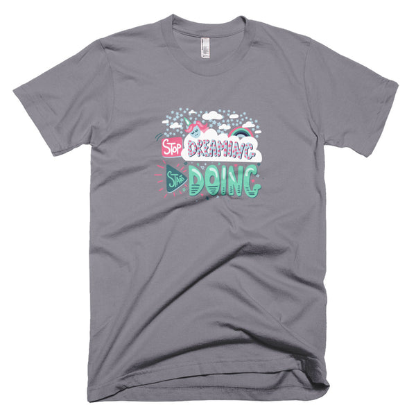 Start Doing - Unisex T-Shirt - The School Counselor Shop  Great gifts and items for school and guidance counselors. School Counseling, Counseling, School Shirts, Counseling Apparel