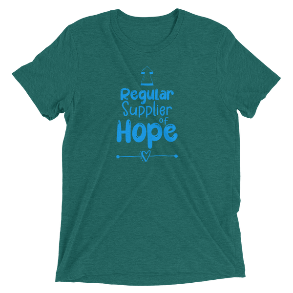 Regular Supplier of Hope Super Soft B+C 4313 Cotton Blend Short sleeve t-shirt - The School Counselor Shop  Great gifts and items for school and guidance counselors. School Counseling, Counseling, School Shirts, Counseling Apparel