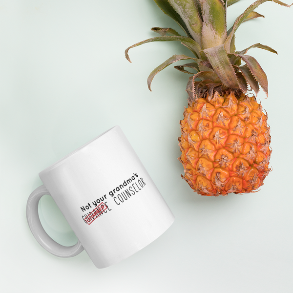 Not Your Grandma's Guidance Counselor Mug - The School Counselor Shop  Great gifts and items for school and guidance counselors. School Counseling, Counseling, School Shirts, Counseling Apparel