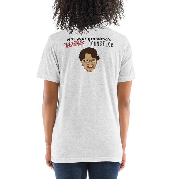 Not Your Grandma's Woman's B+C Short sleeve t-shirt - The School Counselor Shop  Great gifts and items for school and guidance counselors. School Counseling, Counseling, School Shirts, Counseling Apparel