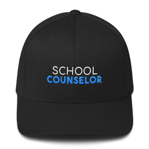 School Counselor - Flexfit Structured Twill Cap - The School Counselor Shop