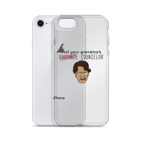 Not Your Grandma's Guidance Counselor iPhone Case - The School Counselor Shop  Great gifts and items for school and guidance counselors. School Counseling, Counseling, School Shirts, Counseling Apparel