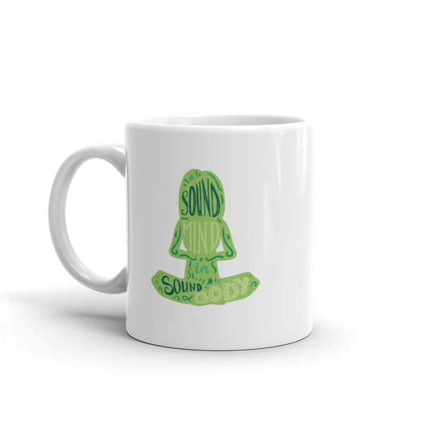 Strong Minds - Green on White Ceramic Mug - The School Counselor Shop  Great gifts and items for school and guidance counselors. School Counseling, Counseling, School Shirts, Counseling Apparel