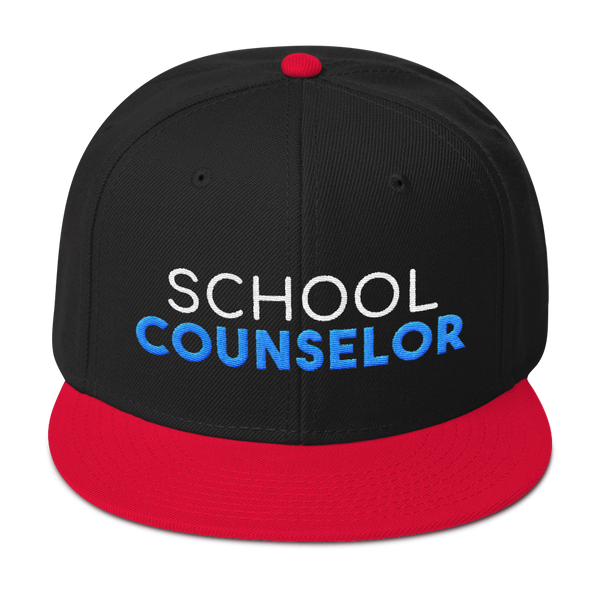 School Counselor - Otto Wool Blend Snapback - The School Counselor Shop
