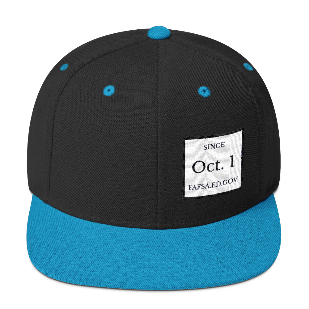 Since Oct. 1 Yupoong 6089M Wool Blend Snapback Hat - The School Counselor Shop  Great gifts and items for school and guidance counselors. School Counseling, Counseling, School Shirts, Counseling Apparel
